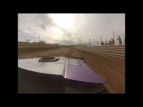 Randy Smyser In Car at Charleston Speedway Test and Tune 2013