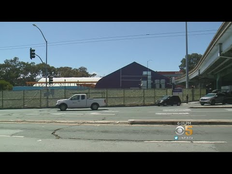 SF Opens Homeless Shelter on Caltrans Land Below Freeway On-Ramp
