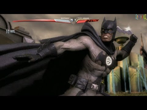 Injustice Gods Among Us Batman Blackest Night Costume
