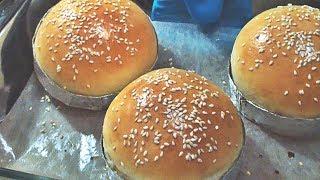 Домашние булочки для бургеров.