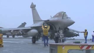 Авианосец Charles de Gaulle - операция против ИГИЛ, февраль 2016
