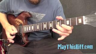 FU MANCHU Bob Balch guitar lesson for PlayThisRiff.com