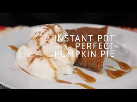 Steve Knoll - Make the Perfect Pumpkin Pie in Your Insta-Pot