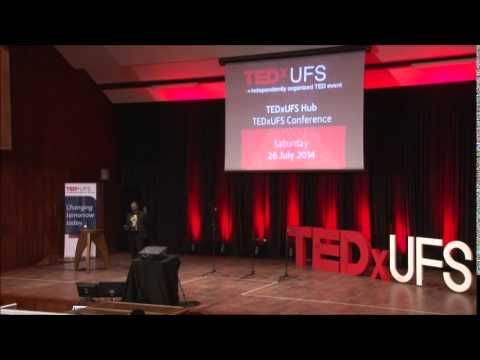 Creating our own | Shaxe Khumalo | TEDxUFS