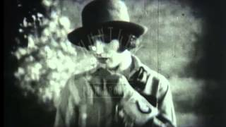 Canadian Mounties, 1920's - Film 3935