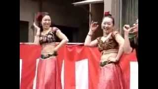 Japanese People Dance on Hindi Indian Song - SHRUTI JOSEPH AL AJMAN, UAE