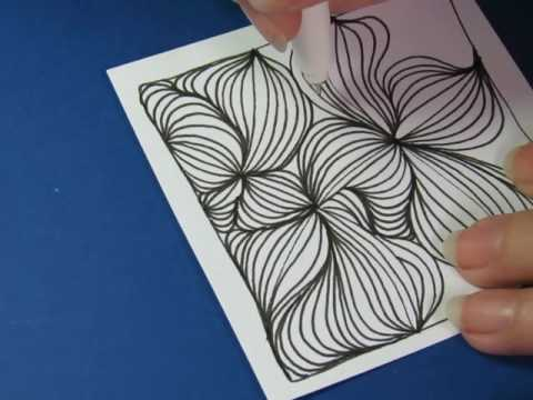 Feeling stuck? Get unstuck with lines, just lines.