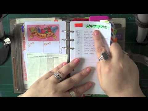 Studio Organisation | Filofax Personal - General Set Up