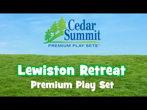 Lewiston Retreat Play Set By Cedar Summit Play