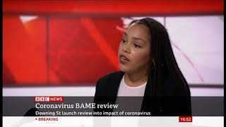 BBC News Live: Downing Street announces review into why ethnic minorities worst hit by coronavirus