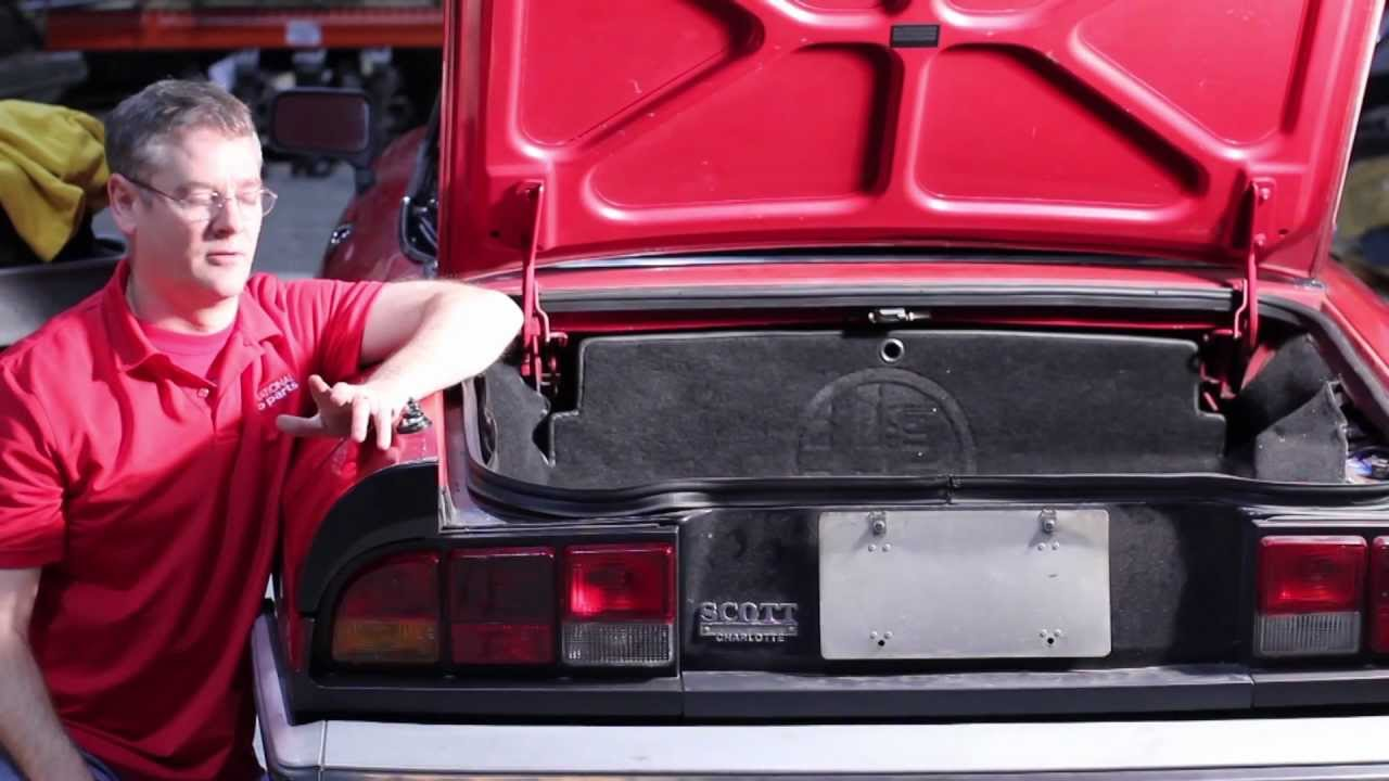 fixing the gas smell in the trunk of an alfa romeo spider part 1 international auto parts [ 1280 x 720 Pixel ]