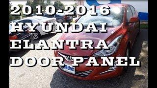 видео Elantra MD (2011-2016)