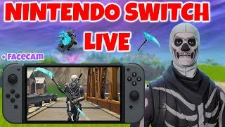 Fortnite Nintendo Switch LIVESTREAM! (Playing With Subs!)
