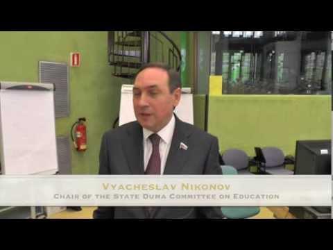 Interview with Vyacheslav Nikonov