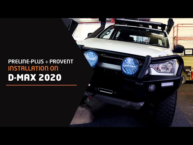 PreLine-Plus & ProVent Installation on D-MAX 2020