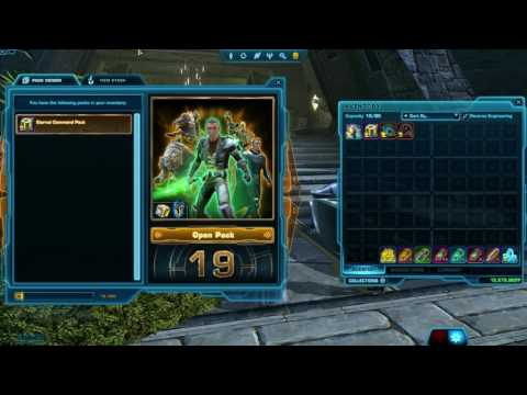 Opening x26 Eternal Command Packs