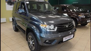 видео УАЗ Патриот Пикап 2016-2017 года - фото, комплектации и цены, технические характеристики, тест-драйвы