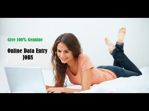 Online data entry Jobs free working 100% Paying legit