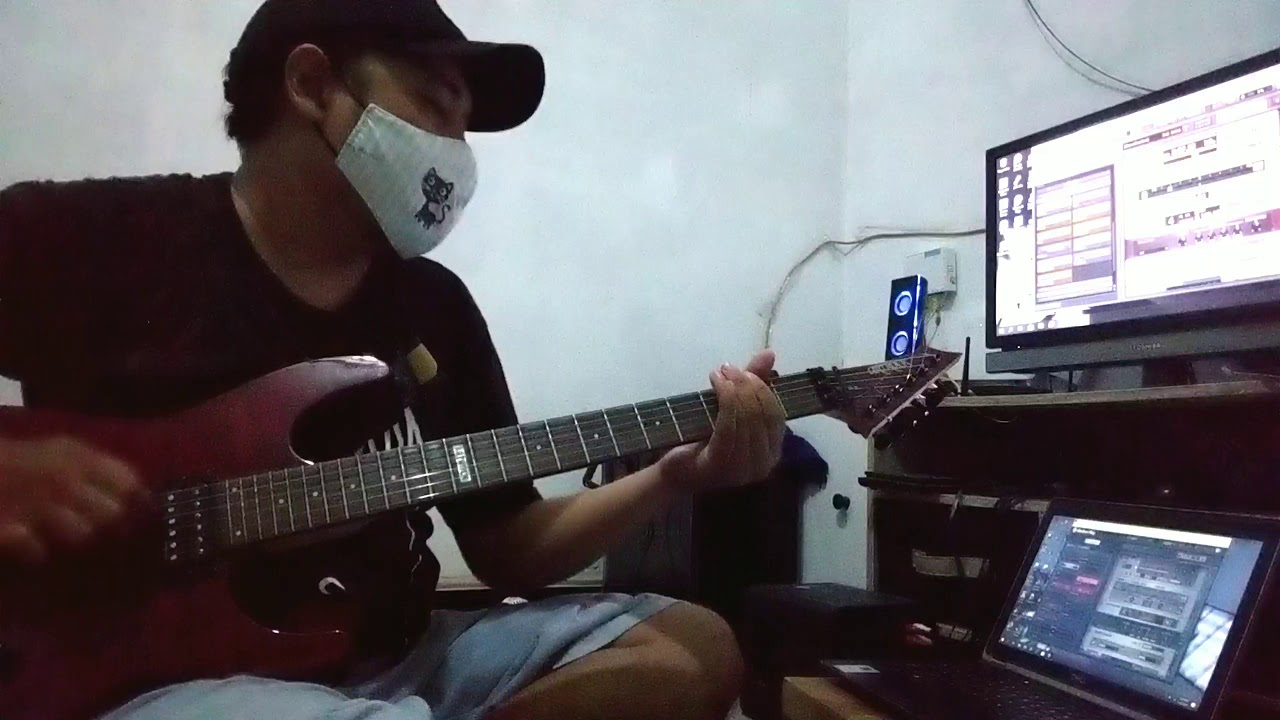 bendera kuning - metalik klinik ( guitar - cover )