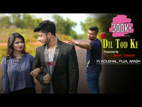 o-mehendi-pyar-wali-||-dil-tod-ke-||-ft.-koushal-&-puja-||-tiktok-viral-song-||-bright-thinkers