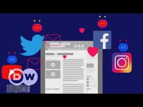 Vorprogrammiert: Die Macht der Social Bots | DW Deutsch