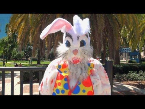Public Trollin Bloody Bunny Prank Youtube
