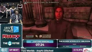 The Elder Scrolls IV: Oblivion by TheFuncannon in 7:30 - SGD...