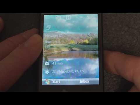 HTC S743 Software Tour