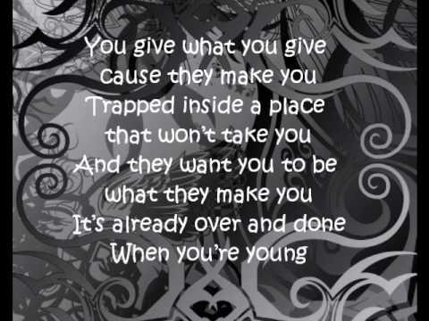 When You Re Young 3 Doors Down Lyrics Youtube