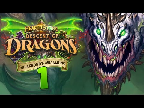 NEW ADVENTURE! NEW CARDS! Galakrond's Awakening Review #1   Hearthstone