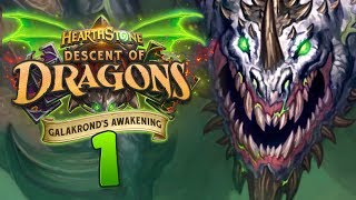 NEW ADVENTURE! NEW CARDS! Galakrond's Awakening Review #1 | Hearthstone