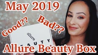 Did they watch my video?!? Allure Beauty Box/May 2019