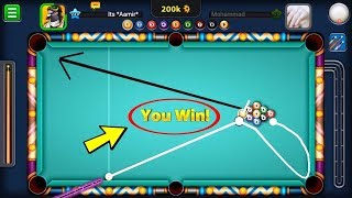 70 VS 165 || 8 Ball Pool Trick In PC  || Who Win || Watch Till End || Tricks