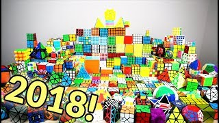Cube Collection 2018! 300+ Cubes!