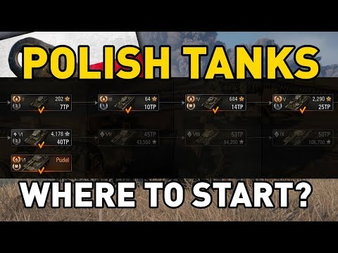 World of Tanks || Polish Tanks: Where to Start?