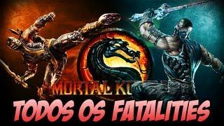 Mortal Kombat 9 - Todos os Fatalities
