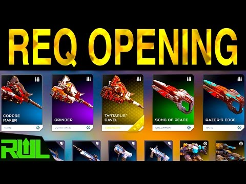 HALO 5 | REQ OPENING | GHOSTS OF MERIDIAN REQS (Halo 5 Guardians Xbox One)