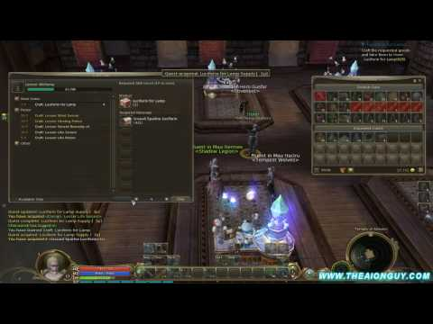 Aion – The Basics Of Learning The Alchemy Profession