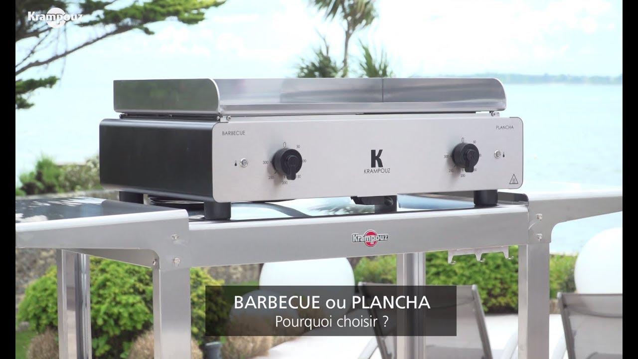 Barbecue Ou Plancha Que Choisir duo k - le combiné électrique barbecue / plancha par krampouz
