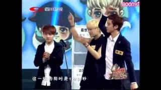 EXO - 130825 China Love Big Concert - Game Cut 1 (eng subbed)