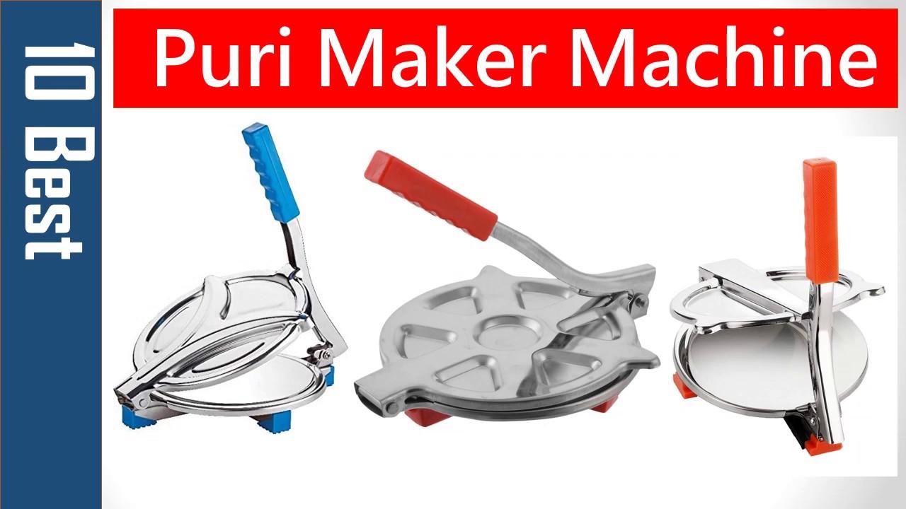 New Model Dough Maker Plastic Automatic Roti Aata Maker And Puri Press Machine