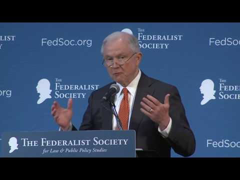 Download Youtube: Address by Attorney General Jeff Sessions