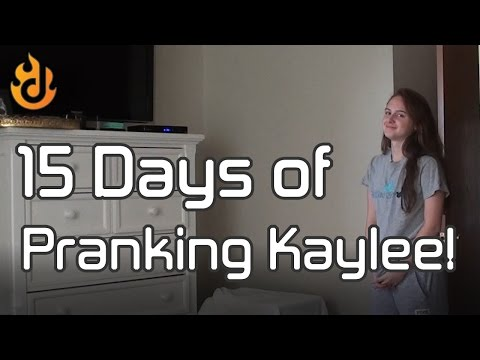 Dad Pranks Teenage Daughter for 15 Days Straight!