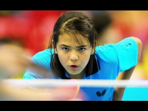 US Open Woman's Singles Table Tennis 2016 - Adriana Diaz vs Tashiro Saki - Game 6 in UHD