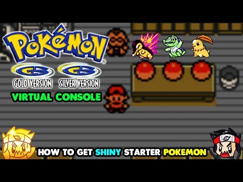 How to HUNT Shiny Starter Pokemon in Pokemon Gold & Silver on 3DS Virtual Console!