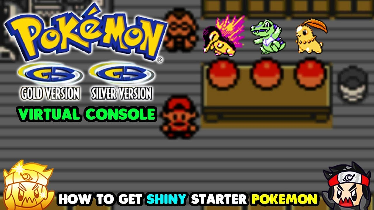 How To Hunt Shiny Starter Pokemon In Pokemon Gold Silver