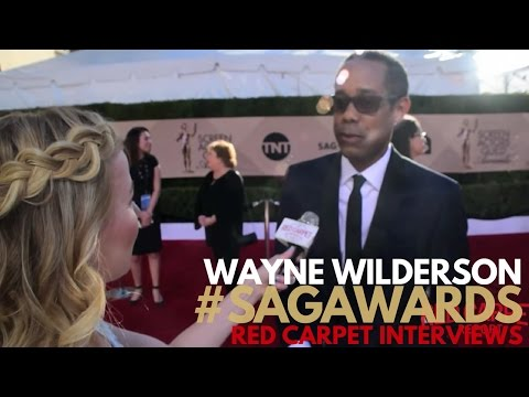 Wayne Wilderson Veep ed on the 23rd Screen Actors Guild Awards Red Carpet SAGAwards