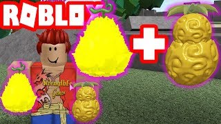 Roblox-Eat 2 Goru Goru Demons Left No Mi And Pika Pika No Mi What | Steve's One Piece