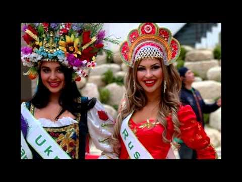 Русские узоры Национальные и народные костюмы, кокошники
