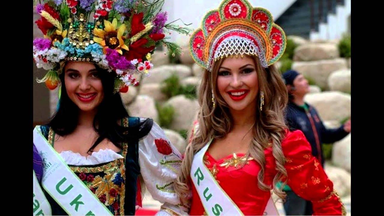 Русские и украинские девушки 1 фотография